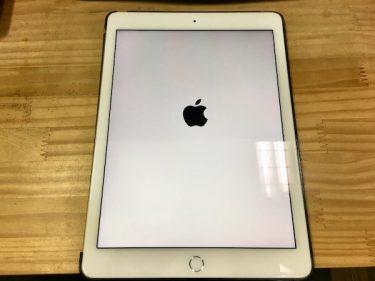 【iPadPro9.7インチ】リンゴマークが繰り返し表示される