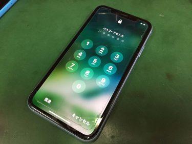 iPhoneXR ソフトウェアのトラブル